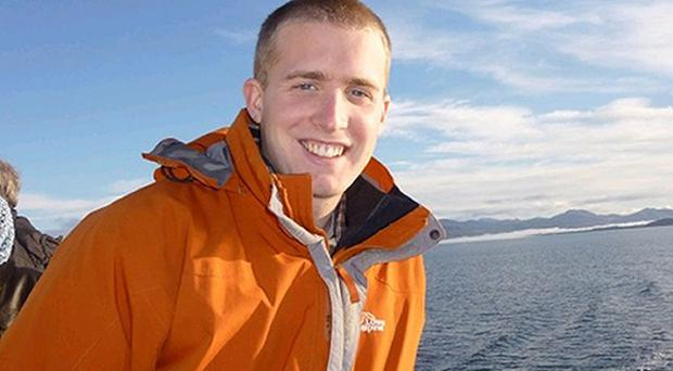 Christopher William Bell, 24, from Blackpool, was a student studying for a PHD in Ocean Mapping in Oban
