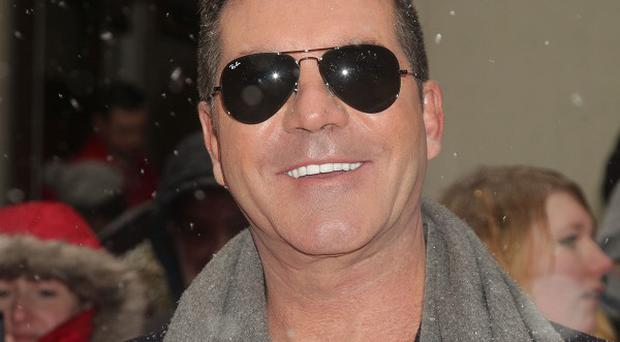 Simon Cowell arrives for Britain's Got Talent at the London Palladium