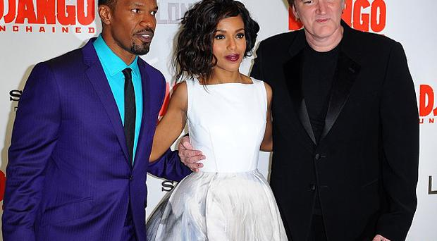Jamie Foxx said he loved working with director Quentin Tarantino