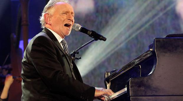 Phil Coulter performs on stage during the Sons and Daughters concert