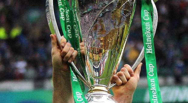 Leicester and Saracens joined Aviva Premiership champions Harlequins in the last eight of the Heineken Cup