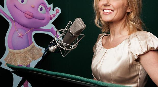 Geri Halliwell voices Isabella Roarsome in the new animation, Henry Hugglemonster (Disney/PA)