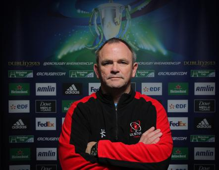 Mark Anscombe's side have not lost away from Ravenhill all season
