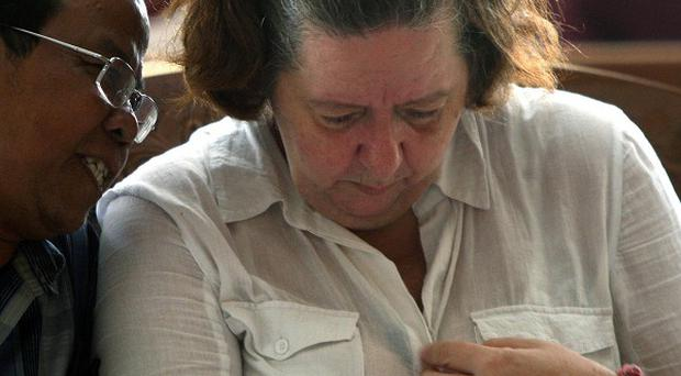Lindsay Sandiford has been sentenced to death in Bali for cocaine smuggling (AP)