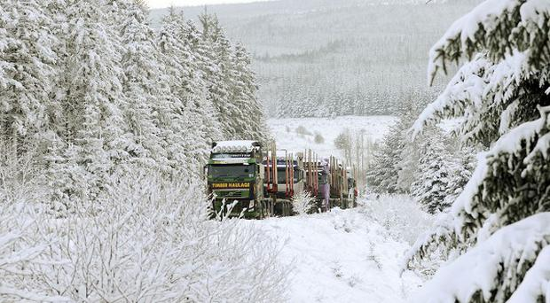 More snow is forecast for parts of the country