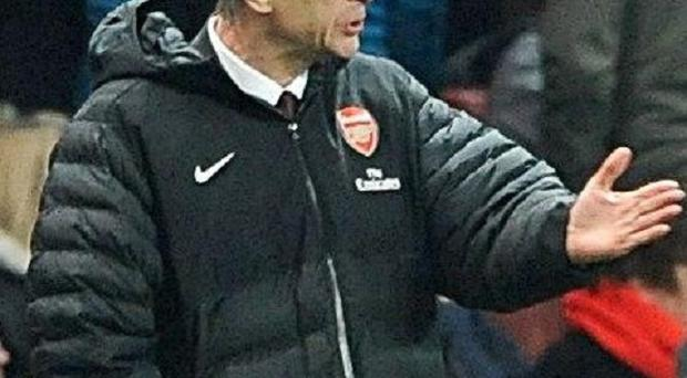 Arsene Wenger feels what happens within a football club should stay there
