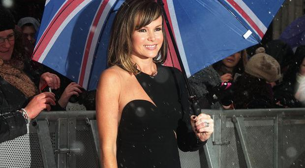 Amanda Holden apparently gave Simon Cowell a ticking off at the Britain's Got Talent auditions