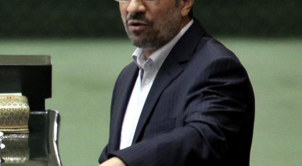 Iran's president Mahmoud Ahmadinejad has dismissed the West's oil embargo on his country (AP)