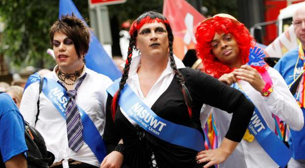 Speak up: transsexuals were up in arms following comments by Suzanne Moore in the Observer