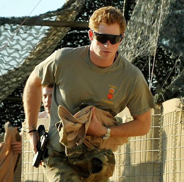 Prince Harry: he's certainly not lacking in courage