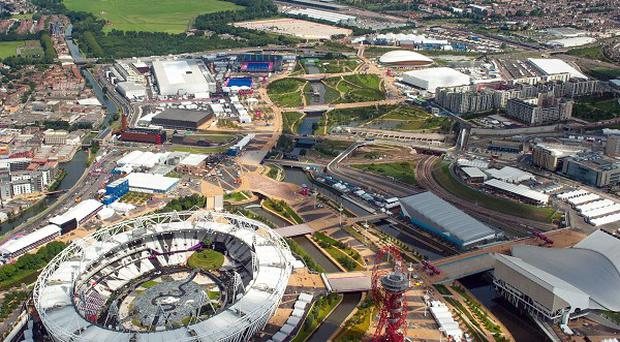 The Olympic Park will host major music events in 2013