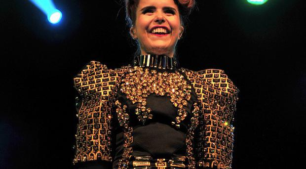 Paloma Faith says LA Reid has taken her under his wing as she tries to crack the US