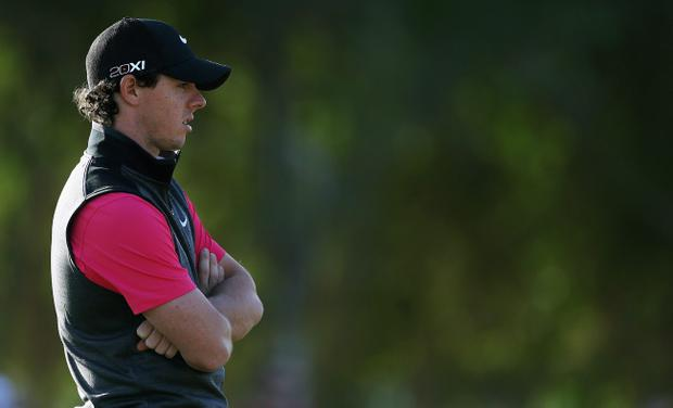 Rory McIlroy has signed a huge deal with Nike, but he must get used to their equipment
