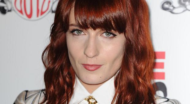 Florence Welch joined an impromptu singalong on the Tube