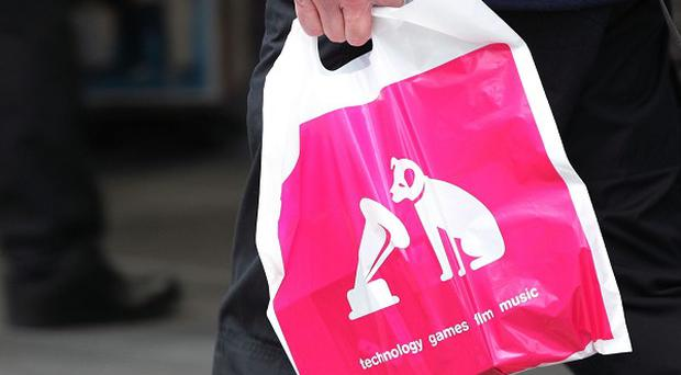 Stricken retailer HMV is to pay out the proceeds of sales of a charity single