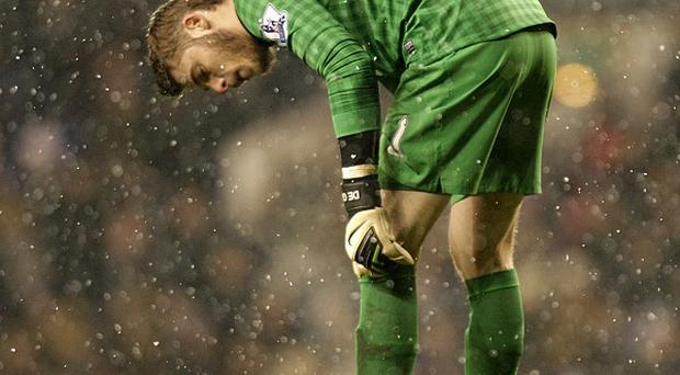 Manchester United goalkeeper David de Gea was at fault for Tottenham's equaliser on Sunday