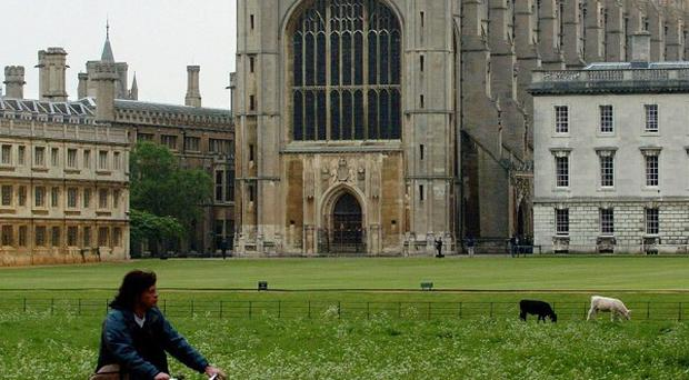 Cambridge University said knowing the results of AS-levels is crucial in increasing the number of graduates from state schools
