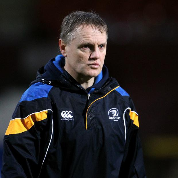 Leinster head coach Joe Schmidt faces an anxious afternoon on Sunday