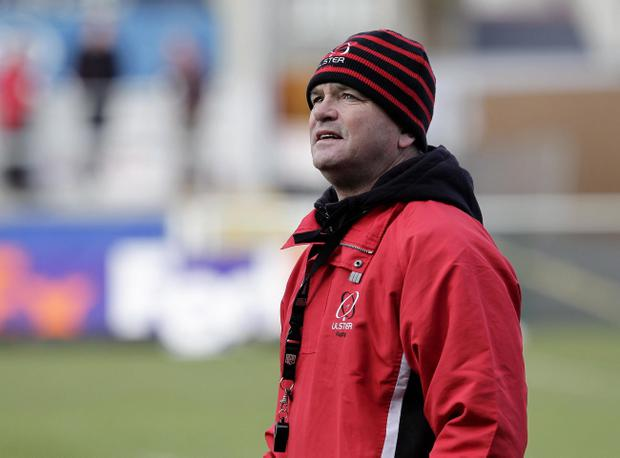 Mark Anscombe's Ulster team will play Saracens on Saturday 6 April