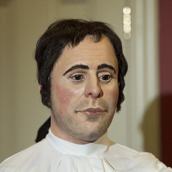 The face of Robert Burns has been revealed by the work of forensic experts (Graeme Hunter/University of Dundee/STV/PA)