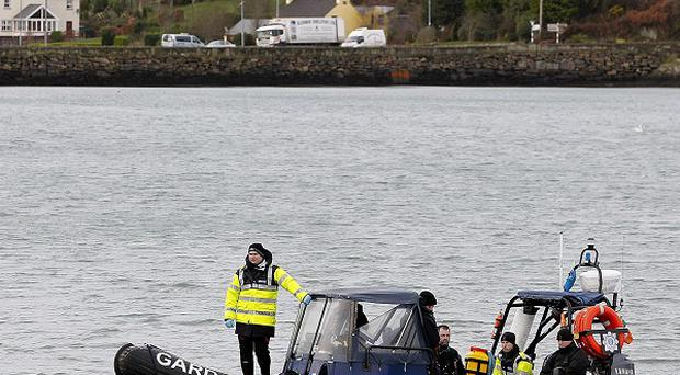 The owner of a sunken trawler has hit out at authorities over the length of time taken to search the wreck after two crewmen drowned
