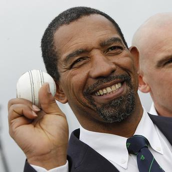 Phil Simmons, left, is delighted to be welcoming Pakistan to Ireland