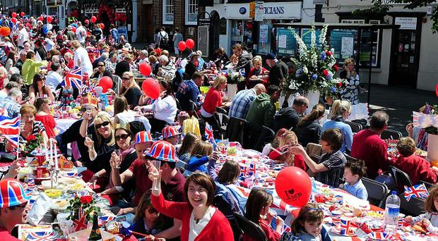 Only a minority of Britons say they feel part of their local community, despite last year's street parties in honour of the Diamond Jubilee