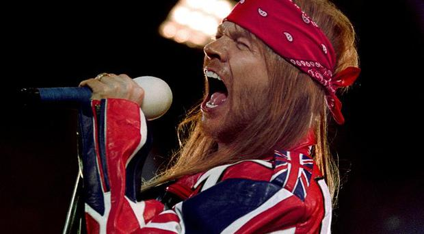 Axl Rose could be a comedian, according to his bandmate