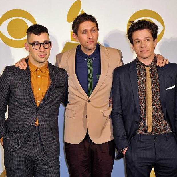 Fun. is up for six Grammy Awards, including album, song and record of the year