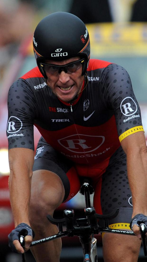 Lance Armstrong claimed he has not doped since 2005