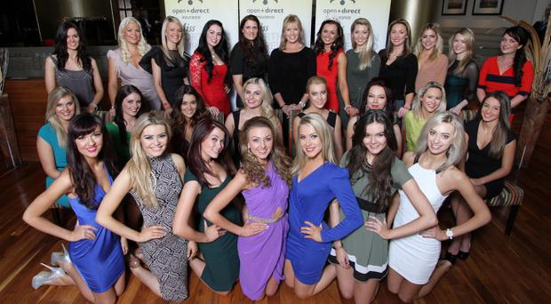 Twenty seven former winners and finalists gathered at the Europa Hotel at the launch of this yearÄôs Open + Direct Miss Northern Ireland contest