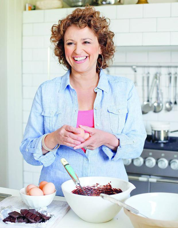 Nadia Sawalha puts her own spin on dieting
