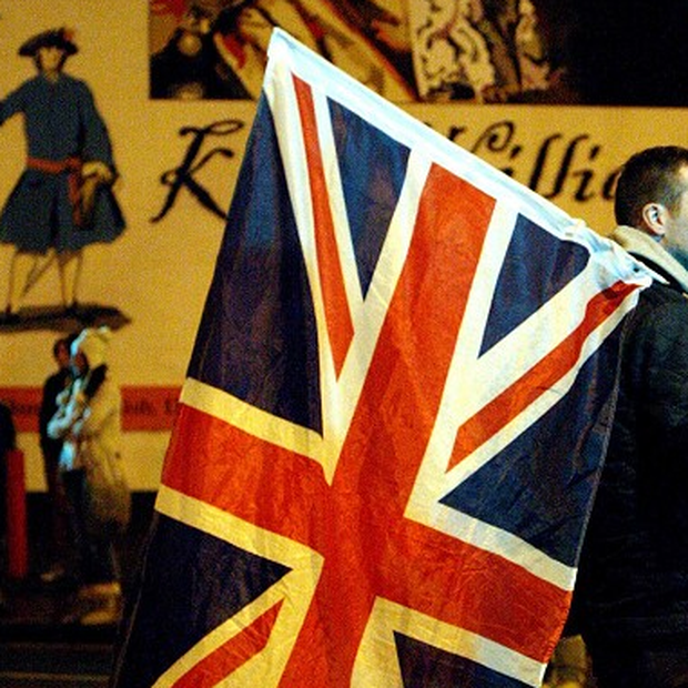 A man is to stand trial accused of involvement in street disorder surrounding the Union flag protests