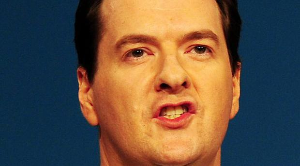 Chancellor George Osborne said he would not 'run away' from the problems facing the UK economy