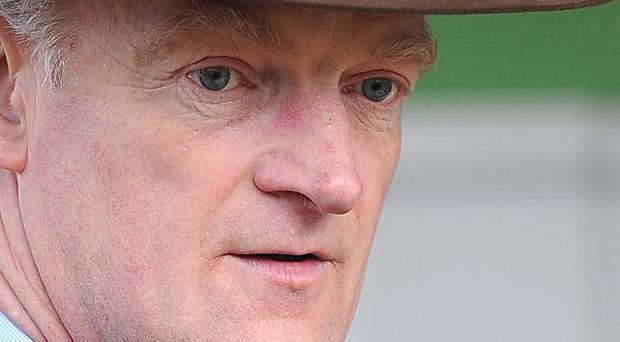Willie Mullins had a pair of winners at Limerick
