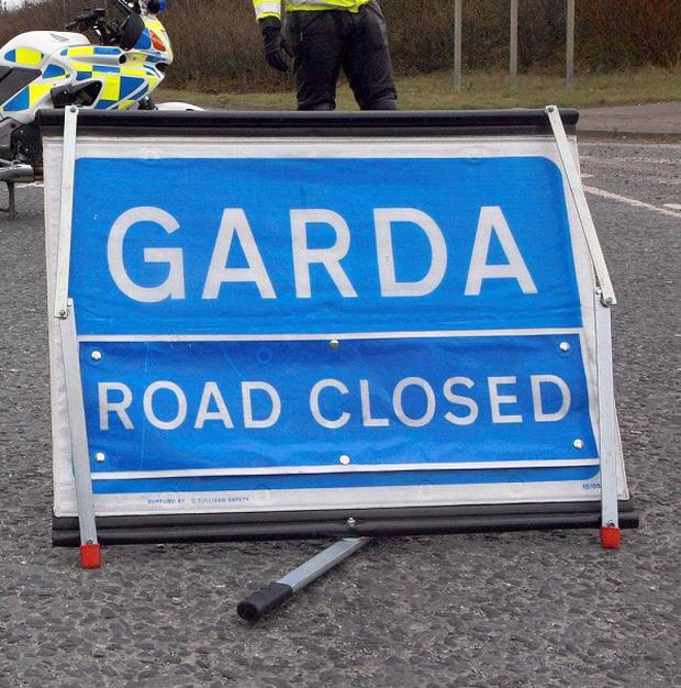 Gardai have appealed for witnesses after a man died in a collision on the M4