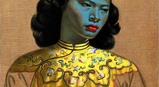 Chinese Girl, by Vladimir Tretchikoff, will be sold at auction (Bonhams/PA)