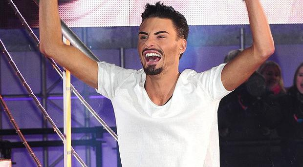 Rylan Clark leaving Celebrity Big Brother after being named the winner