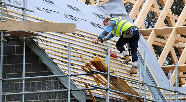 The building sector's value was worth just over 42 per cent less now than in 2007, the Northern Ireland Statistics and Research Agency said
