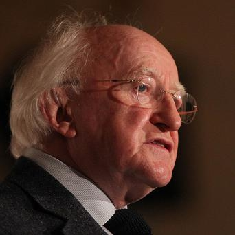President Michael D Higgins said there needs to be less form-filling for school principals