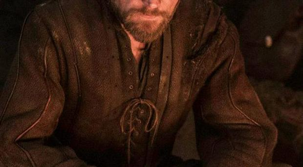 Big break: Co Armagh actor Richard Dormer as the outlaw Beric Dondarrion