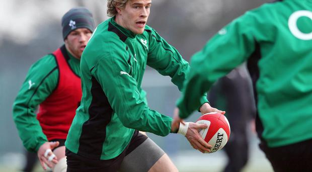 Andrew Trimble was not selected in the squad