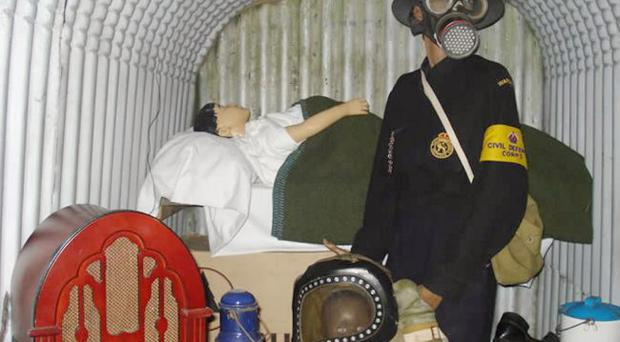 Army game: Some of the many items included in the War Years Remembered collection