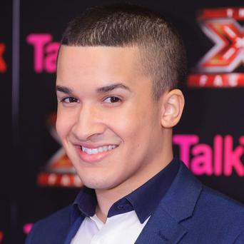 Jahmene Douglas was runner-up on The X Factor