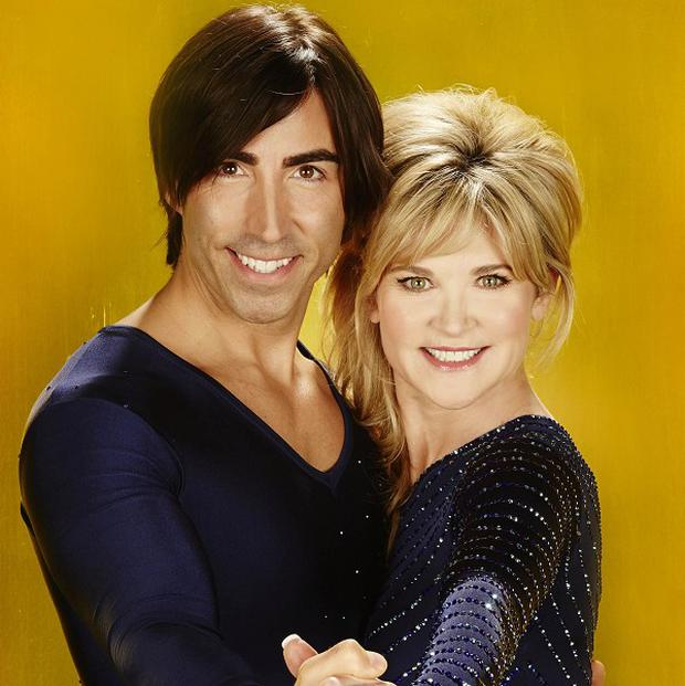 Anthea Turner and Andy Buchanan are out of Dancing On Ice