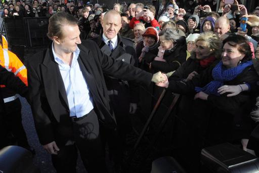 Former Ballymena man and movie star Liam Neeson was granted Freedom of the Borough this year, but figures reveal the town is suffering from 'empty shop syndrome'