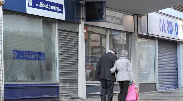Demand for space on the high street was falling before the collapse of HMV, Jessops and Blockbuster