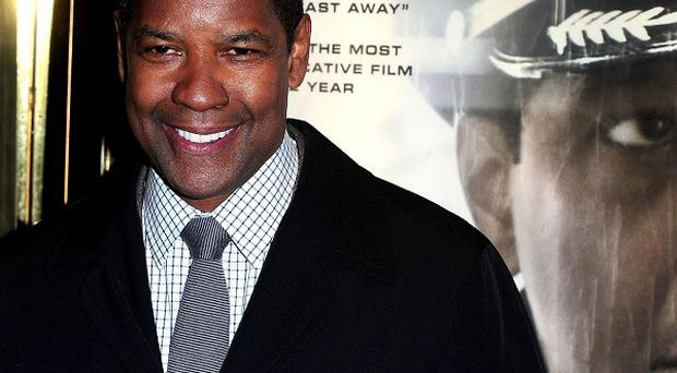 Denzel Washington wanted to take a flight simulator home with him
