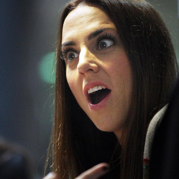 Mel C has joined DJ Greg James on a Comic Relief challenge