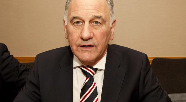 Charles Green has been unable to vote on the planned changes to Scottish football